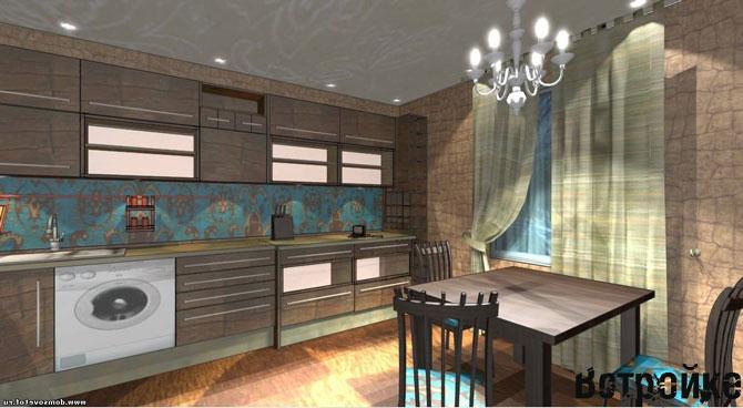 кухня гостиная дизайн фото