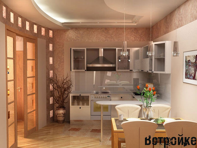 Кухни в стиле модерн фото