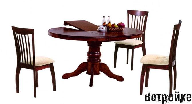 Обеденные столы для кухни фото