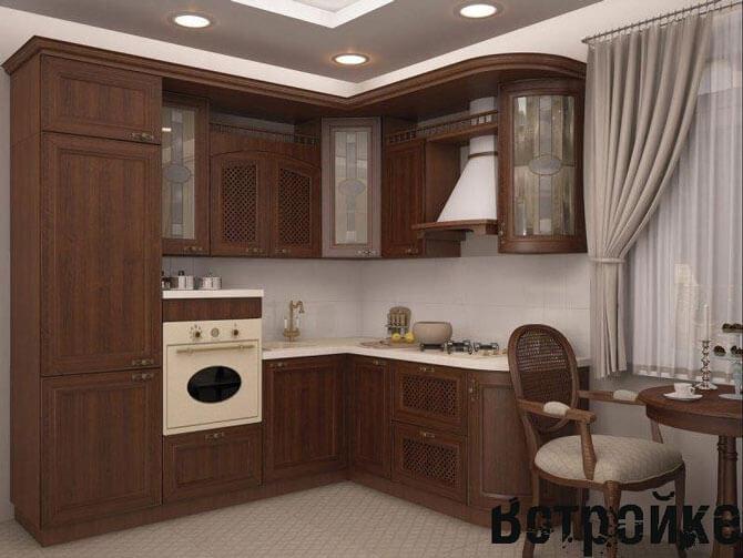 Кухня 3 на 4 м