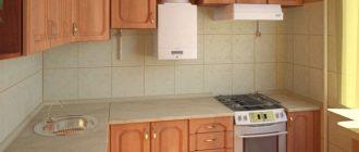 мебель для кухни хрущевки фото