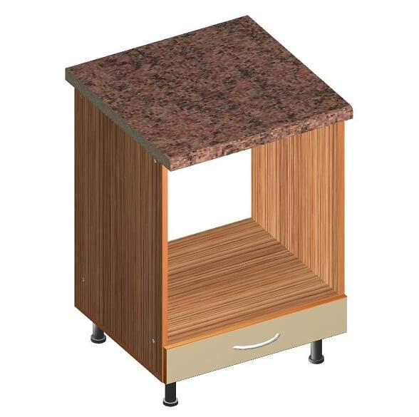 Кухонный нижний модуль под духовку 600 х 600 х 860