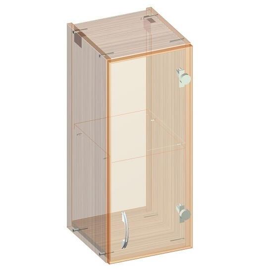 Навесной кухонный шкафчик 300 х 320 х 720 - эскиз