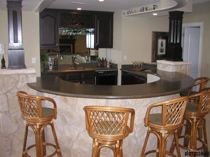 барные столы для кухни фото