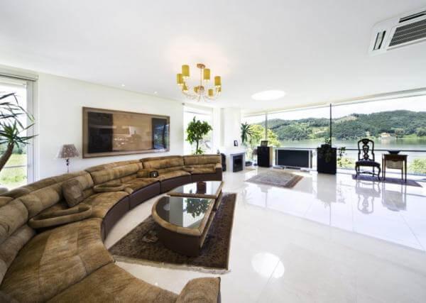 Дизайн роскошной гостиной