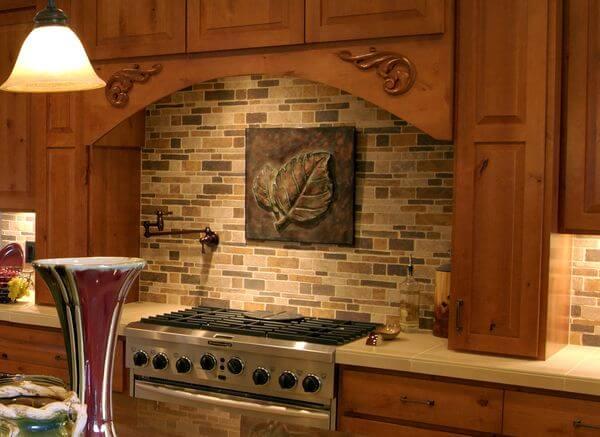 Красивые фартуки для кухни фото 1