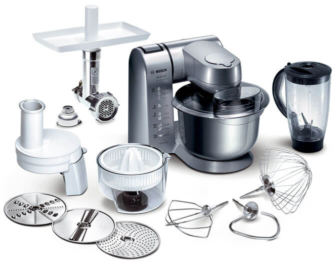 Кухонные комбайны компании Bosch