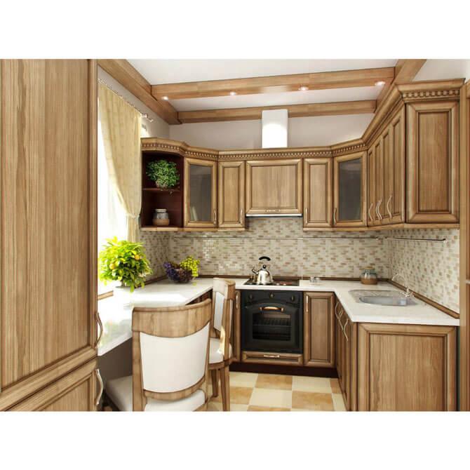 Кухня: фасад дуб альпийский 1032-298 серия эконом