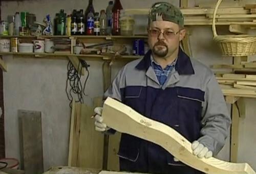 Ножка стола произвольной формы