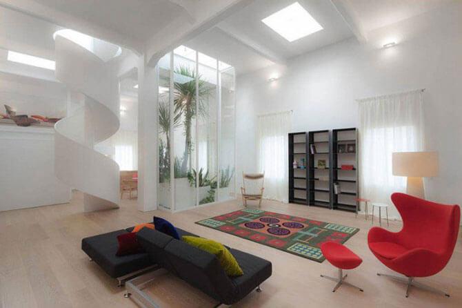 гостиная в стиле минимализм фото