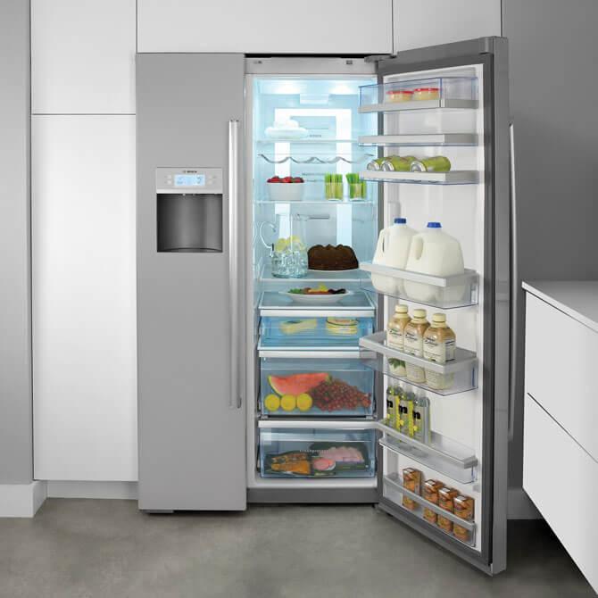 Встроенный холодильник Bosch