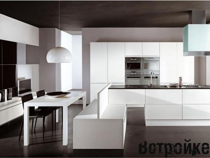 Чертежи и размеры кухонной мебели 163