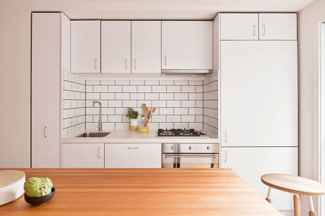 кухонный фартук из плитки фото