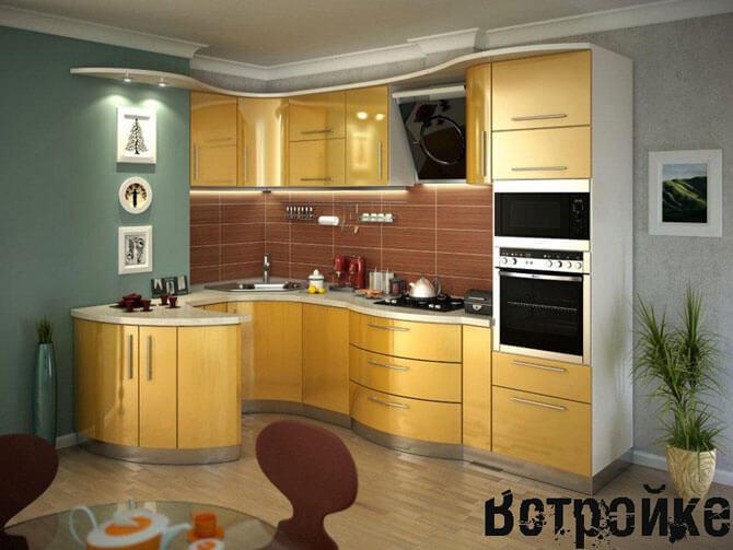 Фасады для кухни постформинг