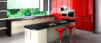 рабочий стол на кухню фото