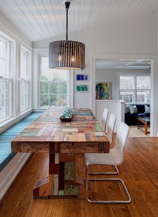 Стол из массива для кухни