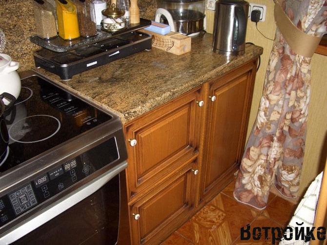 Недорогой стол тумба для кухни