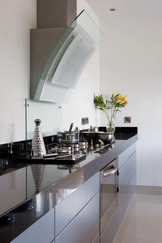 Дизайн вытяжки для кухни фото