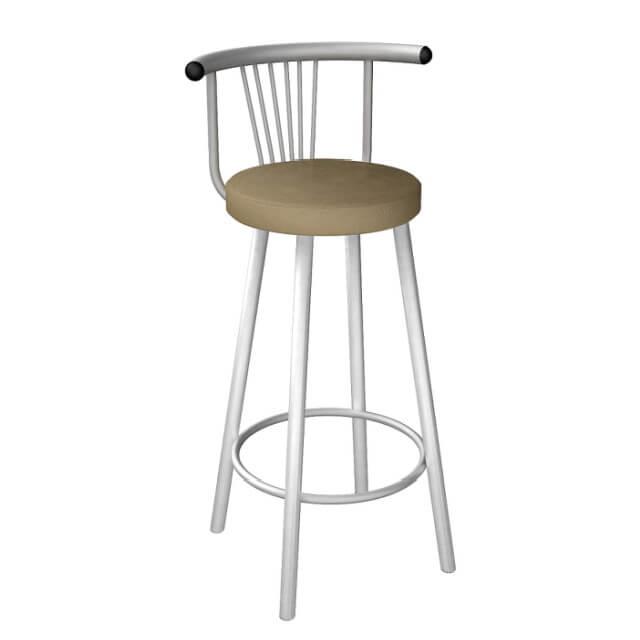 Мягкий барный стул