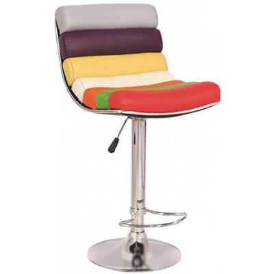 Яркий барный стул