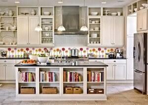 Кухонный фартук из пвх