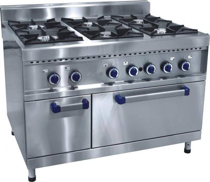 Профессиональная печь для кухни