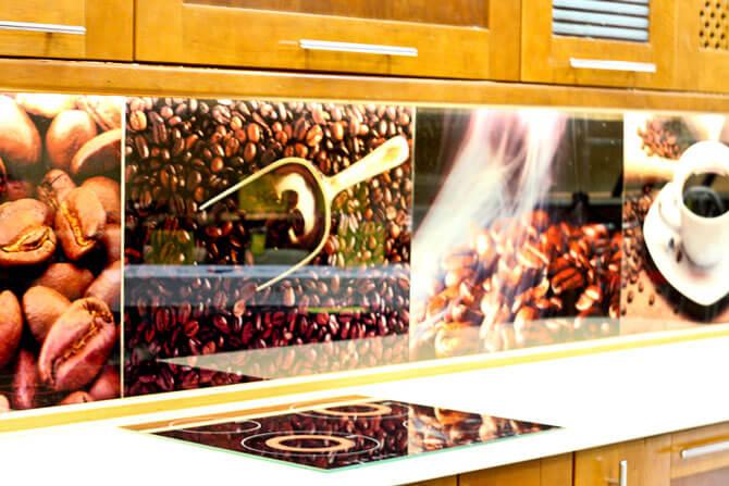 скинали из стекла для кухни фото