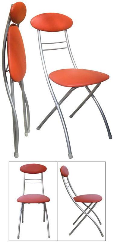 складной стул со спинкой для кухни