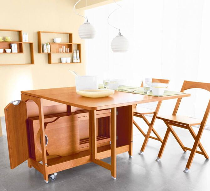 Складные кухонные стулья со спинкой