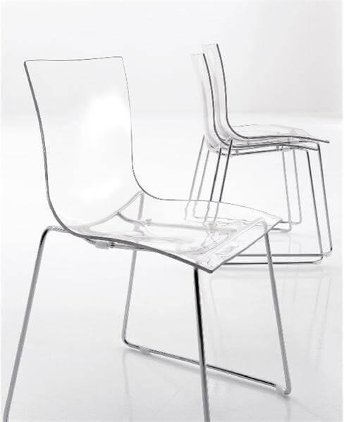 Стеклянные стулья