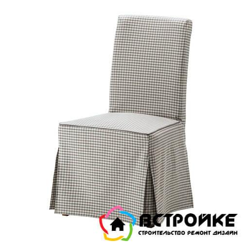 Чехлы на стулья Хенриксдаль от Икеа
