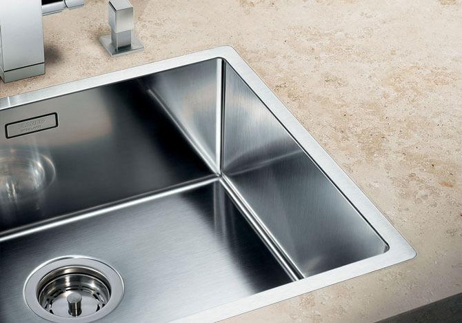 врезные мойки для кухни из нержавейки фото
