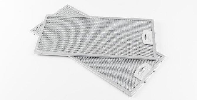 Алюминиевый жироулавливающий фильтр