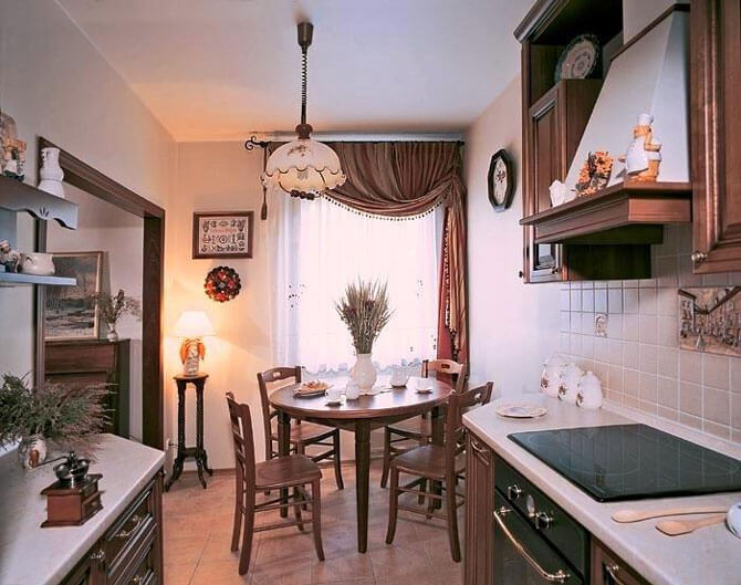 карнизы на кухне