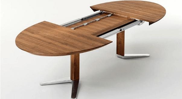 Овальный обеденный стол для маленькой кухни