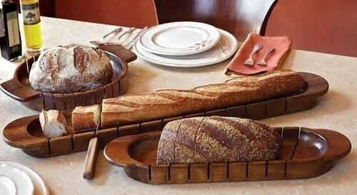 Доска для нарезки хлеба и багетов