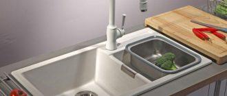 Мойка для кухни blanco из искусственного камня