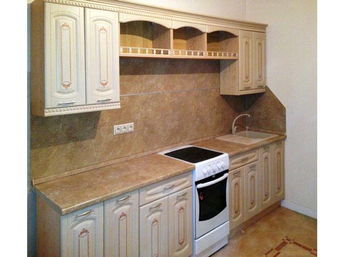 Навесные шкафы для кухни из ДСП
