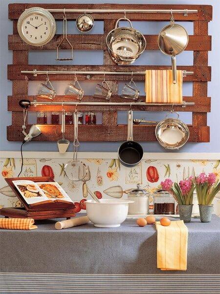 Pейлинги в интерьере кухни