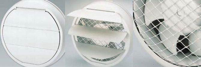 Вытяжной вентилятор для кухни из пластика