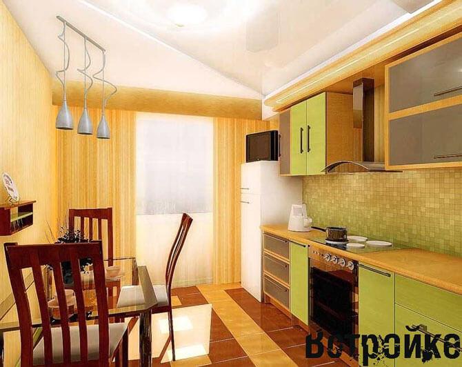 Современная кухня 10 кв м