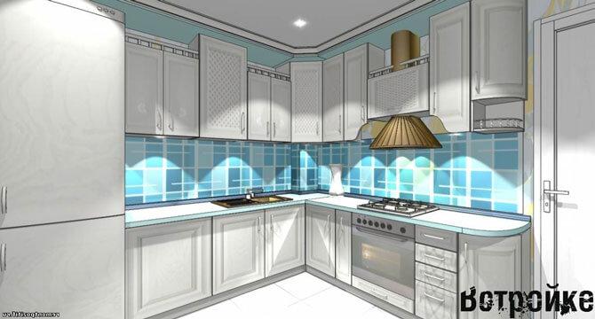 Планировки кухни 10 кв м
