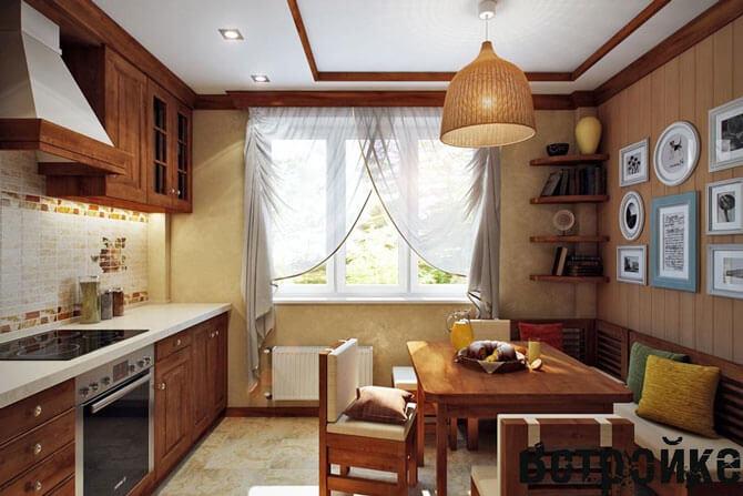 Оформление кухни 11 м кв