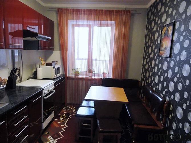 Интерьер кухни 14 кв. м.