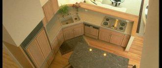 Кухни 8 кв м фото