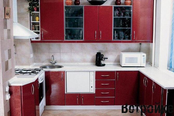 Классическая кухня 9 кв м