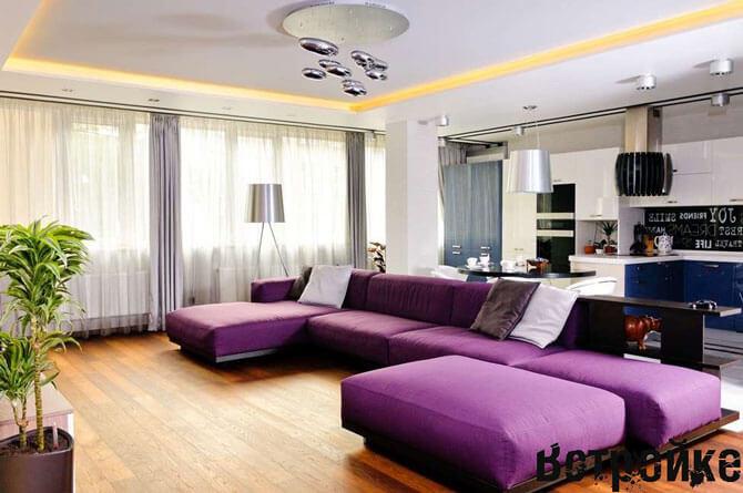 Спальный диван на кухне