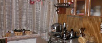 тюль на кухню фото