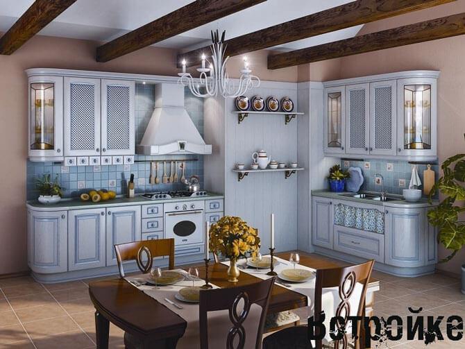 Кухонный воздухоочиститель над плитой