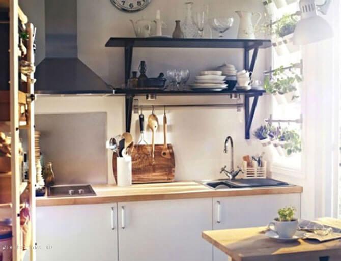 Дизайн кухни 3 кв. м.